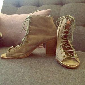 Jeffery Campbell Lace Up Heels